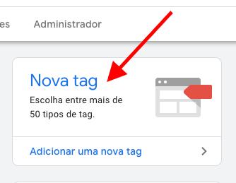 Adicionar tags no Google Tag Manager
